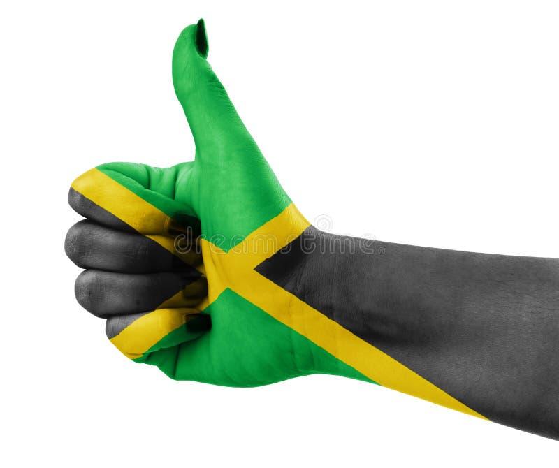 σημαία Τζαμάικα στοκ εικόνες με δικαίωμα ελεύθερης χρήσης