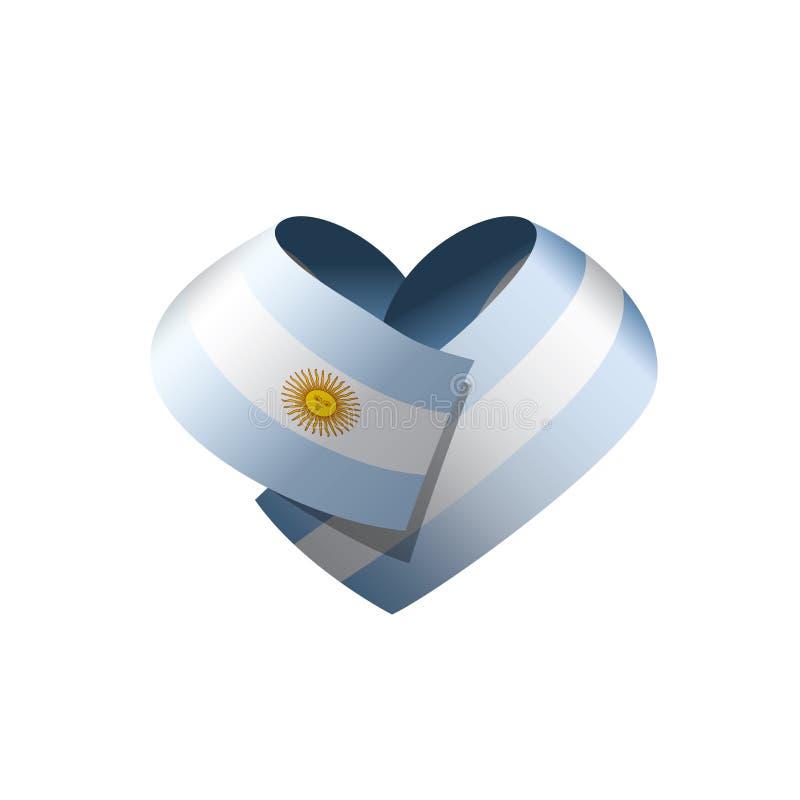 Σημαία της Αργεντινής, διανυσματική απεικόνιση διανυσματική απεικόνιση