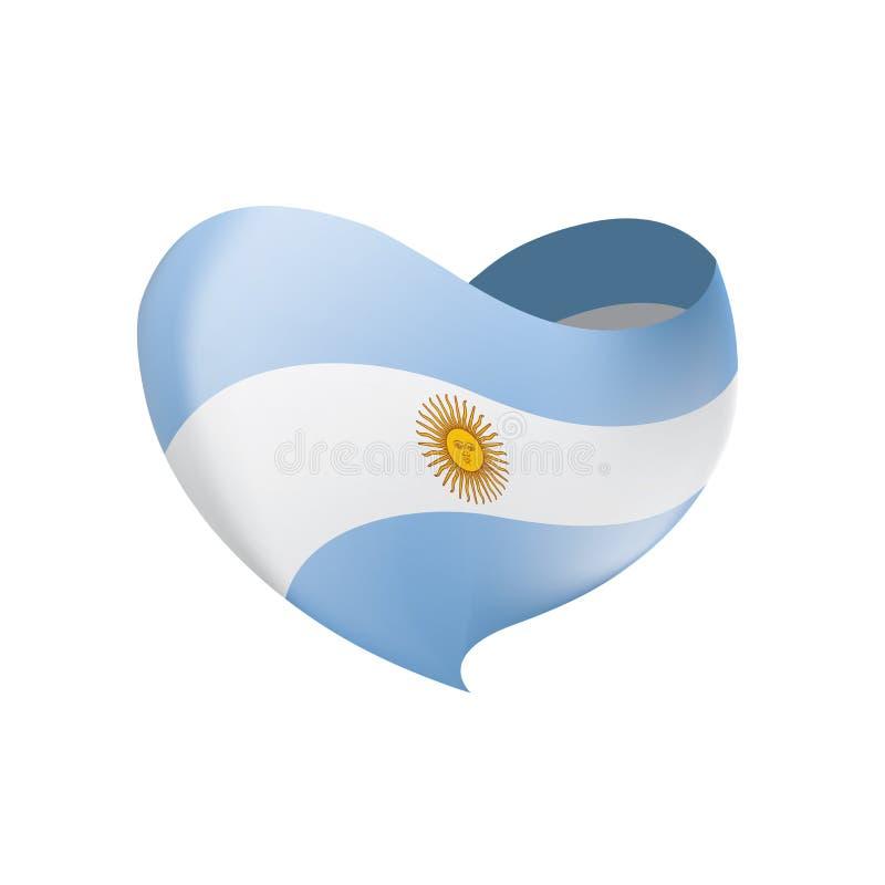 Σημαία της Αργεντινής, διανυσματική απεικόνιση ελεύθερη απεικόνιση δικαιώματος