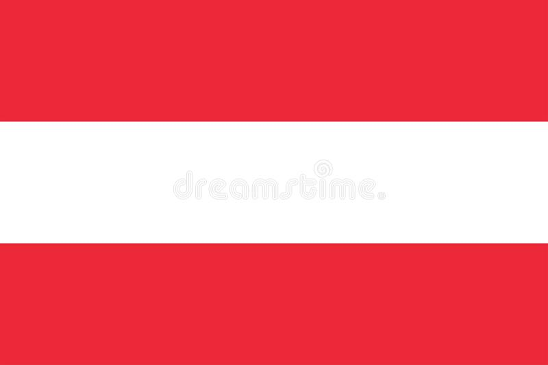 σημαία της Αυστρίας απεικόνιση αποθεμάτων
