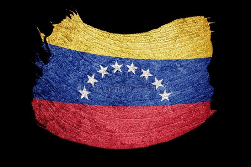 Σημαία της Βενεζουέλας Grunge Σημαία της Βενεζουέλας με τη σύσταση grunge brunhilda απεικόνιση αποθεμάτων