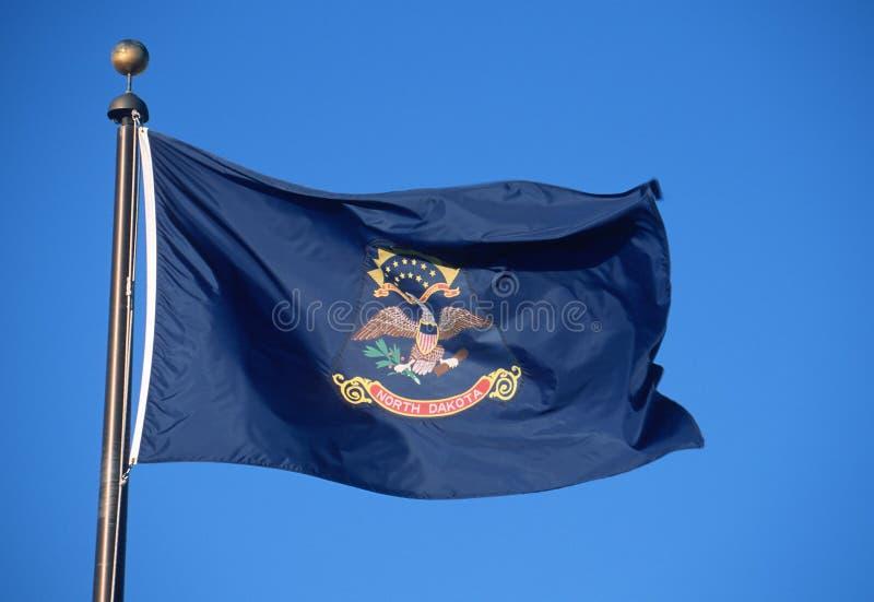 Σημαία της βόρειας Ντακότας στοκ εικόνες
