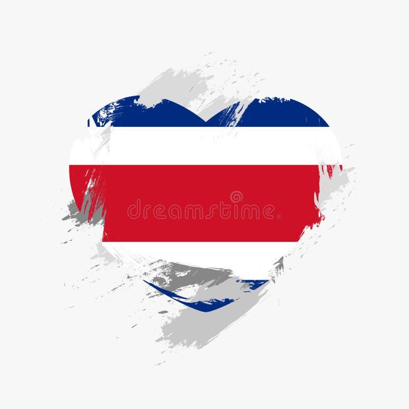 Σημαία της Κόστα Ρίκα στοκ εικόνα