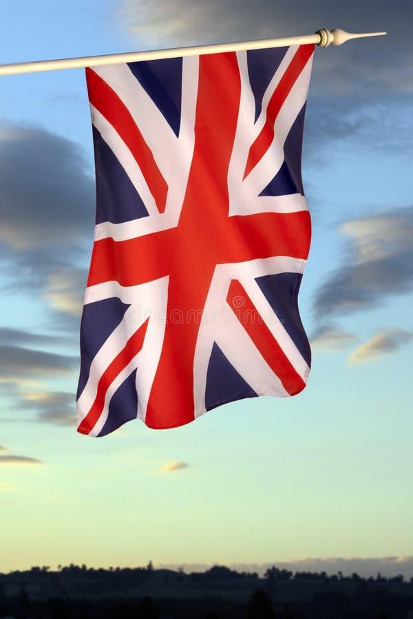 Σημαία της Μεγάλης Βρετανίας και της Βόρειας Ιρλανδίας στοκ εικόνες με δικαίωμα ελεύθερης χρήσης