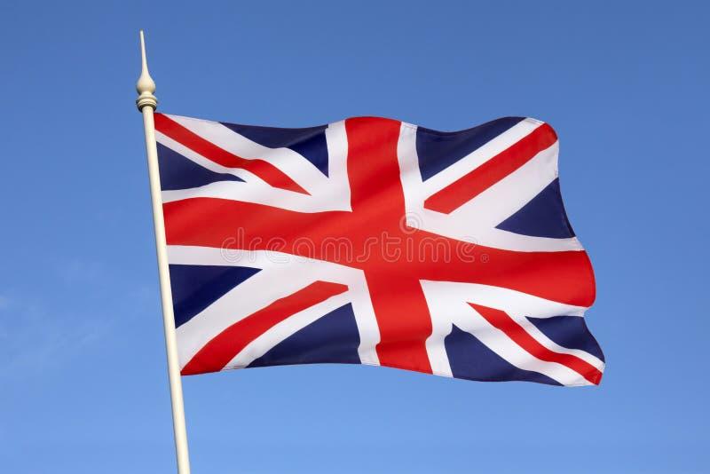 Σημαία της Μεγάλης Βρετανίας - του Ηνωμένου Βασιλείου στοκ φωτογραφίες