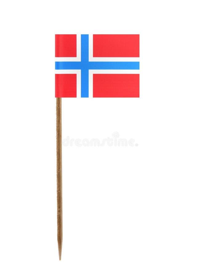 Σημαία της Νορβηγίας στοκ εικόνα με δικαίωμα ελεύθερης χρήσης