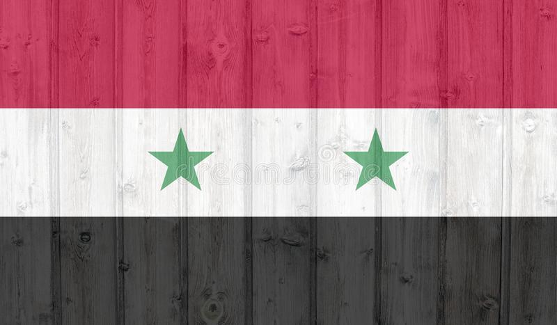 Σημαία της Συρίας απεικόνιση αποθεμάτων