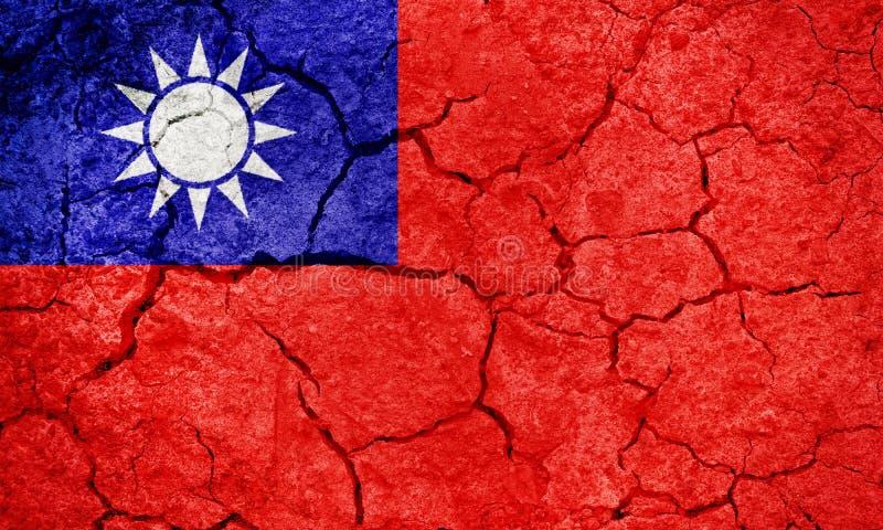 Σημαία της Ταϊβάν στοκ φωτογραφία
