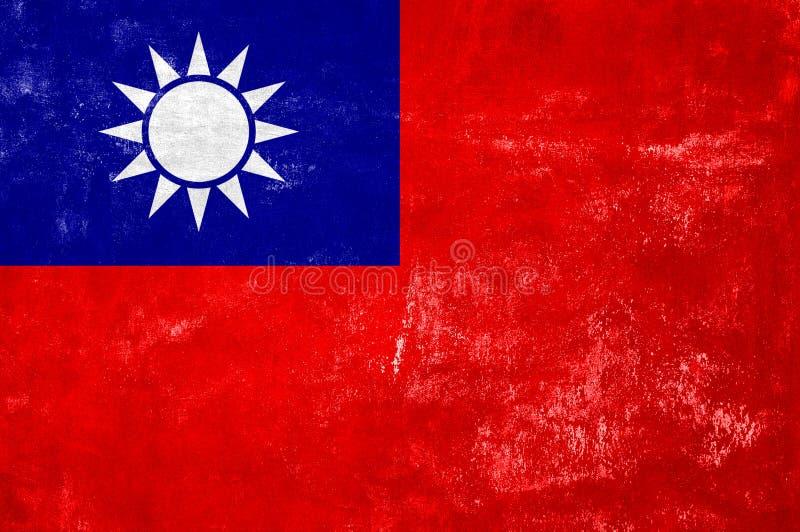 Σημαία της Ταϊβάν στοκ εικόνες με δικαίωμα ελεύθερης χρήσης
