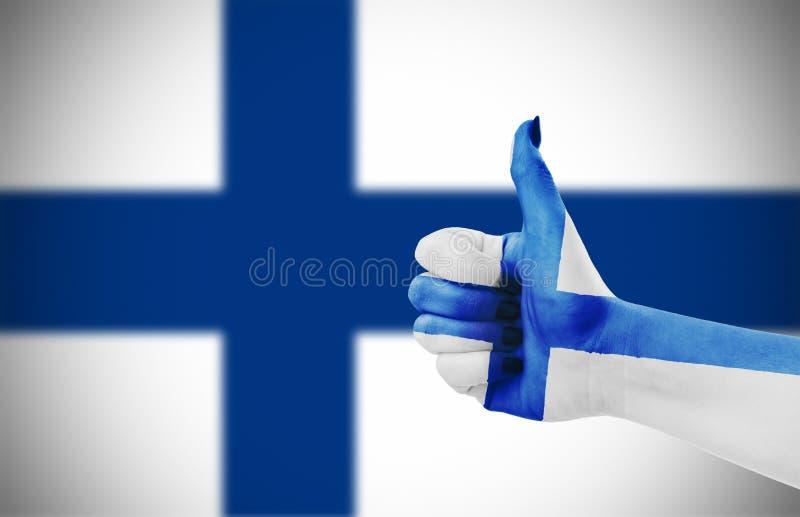 σημαία της Φινλανδίας στοκ εικόνα με δικαίωμα ελεύθερης χρήσης