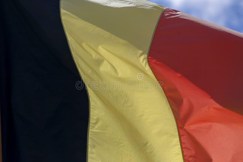 Σημαία του Βελγίου στοκ φωτογραφία