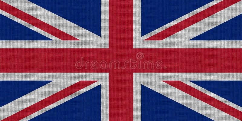 σημαία του Ηνωμένου (UK) aka Union Jack στοκ εικόνες