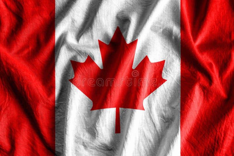 σημαία του Καναδά στοκ φωτογραφίες με δικαίωμα ελεύθερης χρήσης