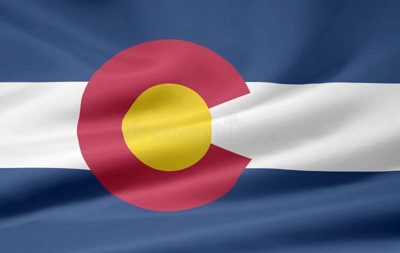 σημαία του Κολοράντο απεικόνιση αποθεμάτων