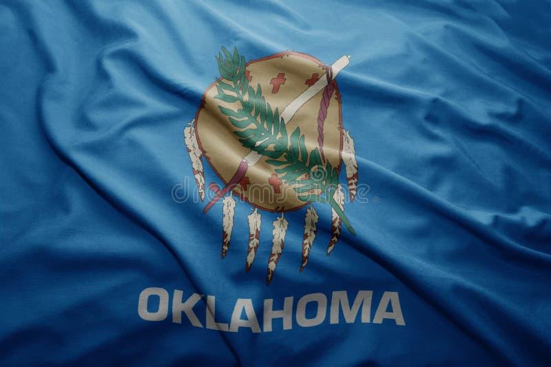 Σημαία του κράτους της Οκλαχόμα στοκ φωτογραφία με δικαίωμα ελεύθερης χρήσης