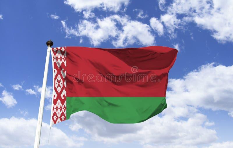 Σημαία του λευκορωσικού, της Λευκορωσίας πολιτισμού στοκ φωτογραφίες με δικαίωμα ελεύθερης χρήσης