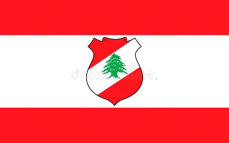 Σημαία του Λιβάνου απεικόνιση αποθεμάτων