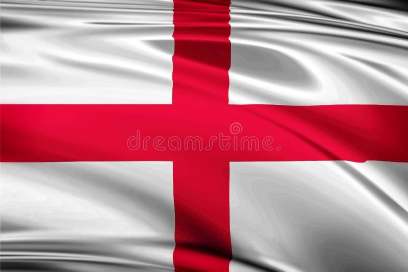 Σημαία του μεταξιού της Αγγλίας βασίλειων στοκ φωτογραφίες