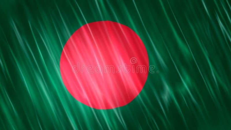 Σημαία του Μπανγκλαντές στοκ φωτογραφία με δικαίωμα ελεύθερης χρήσης
