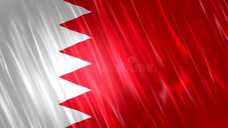 Σημαία του Μπαχρέιν στοκ εικόνα
