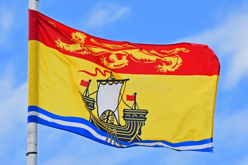 Σημαία του Νιού Μπρούνγουικ στοκ φωτογραφία με δικαίωμα ελεύθερης χρήσης