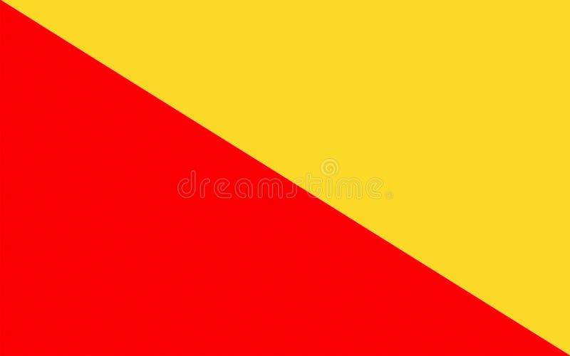 Σημαία του Παλέρμου της Σικελίας, Ιταλία ελεύθερη απεικόνιση δικαιώματος