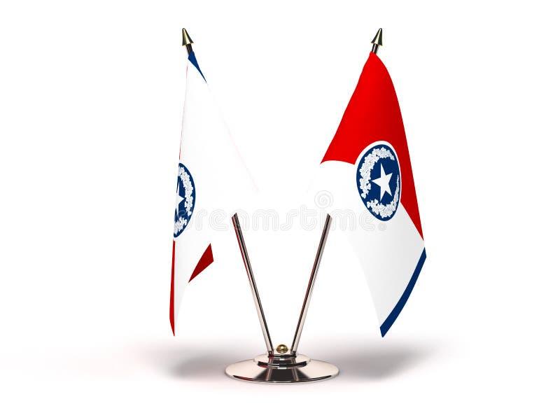 Σημαία του Τένεσι Σατανούγκα απεικόνιση αποθεμάτων
