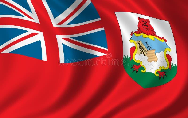 σημαία των Βερμούδων διανυσματική απεικόνιση
