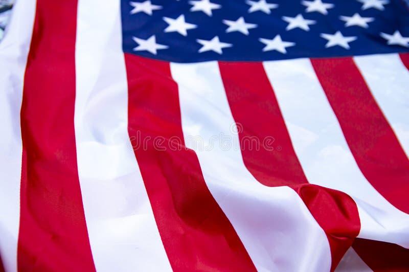 Σημαία των Ηνωμένων Πολιτειών της Αμερικής στοκ εικόνα