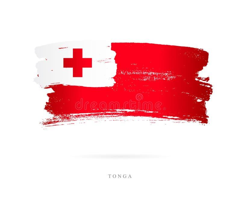 σημαία Τόγκα Αφηρημένη έννοια διανυσματική απεικόνιση