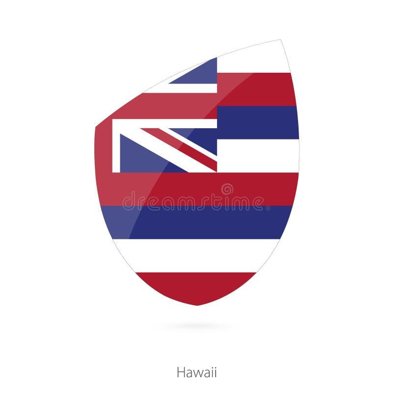 σημαία Χαβάη απεικόνιση αποθεμάτων