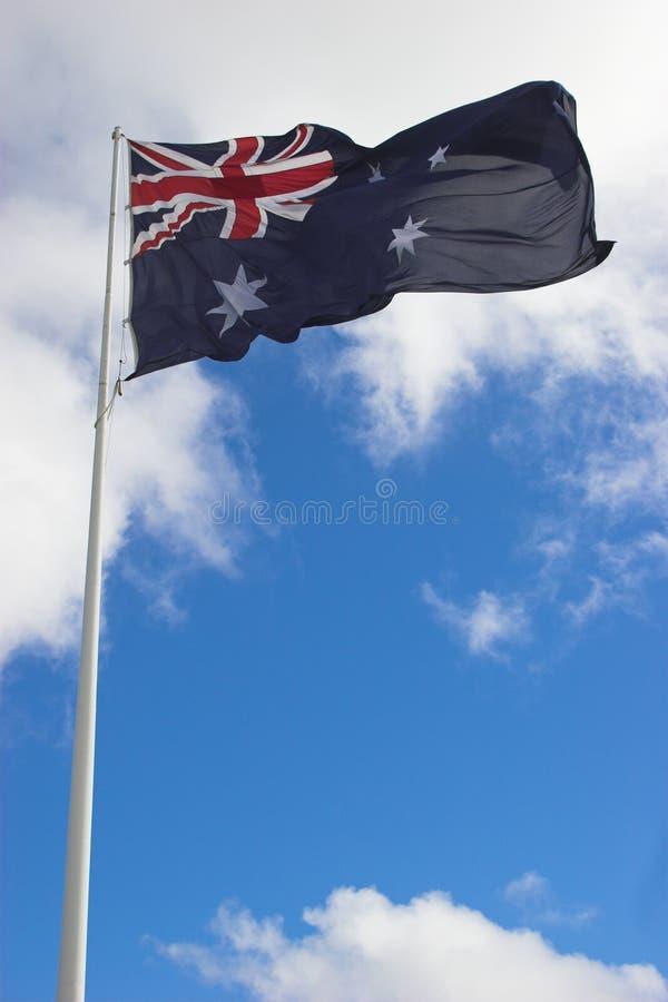 σημαία 2 aussie στοκ φωτογραφίες
