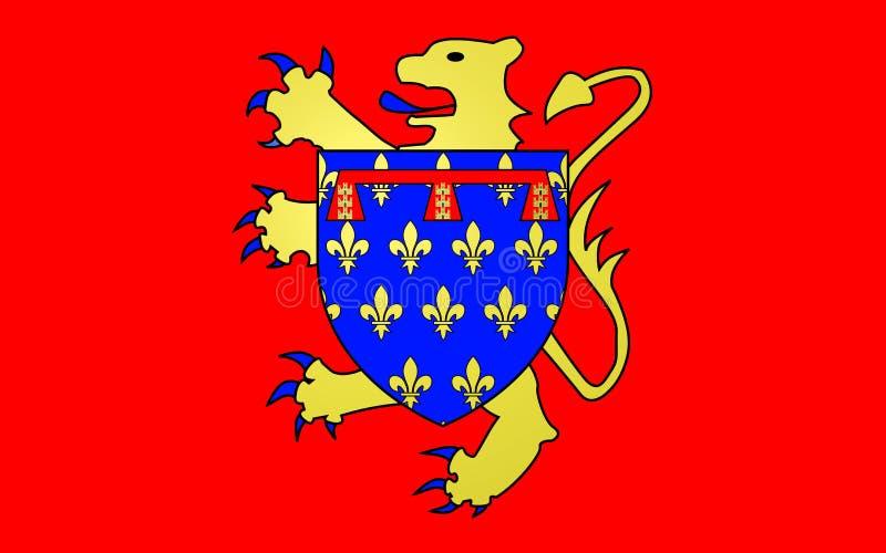 Σημαία Arras, Γαλλία στοκ φωτογραφία με δικαίωμα ελεύθερης χρήσης