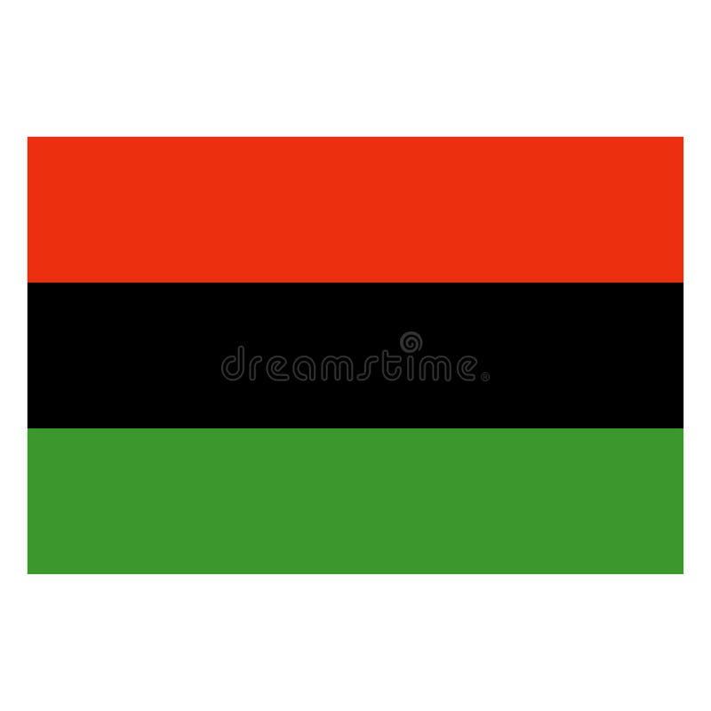 Σημαία Kwanzaa ελεύθερη απεικόνιση δικαιώματος