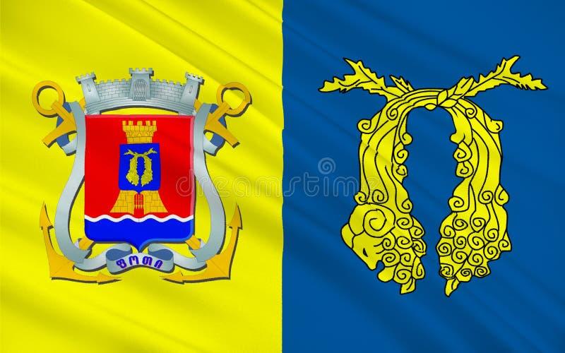 Σημαία Poti, Γεωργία απεικόνιση αποθεμάτων