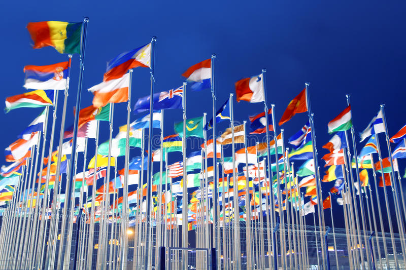 σημαίες εθνικές στοκ εικόνες με δικαίωμα ελεύθερης χρήσης