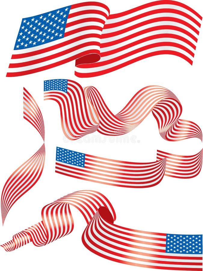 σημαίες ΗΠΑ απεικόνιση αποθεμάτων