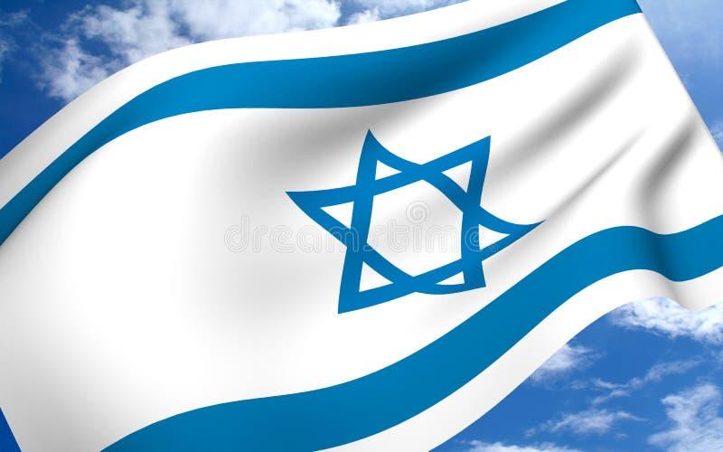 σημαίες Ισραήλ απεικόνιση αποθεμάτων