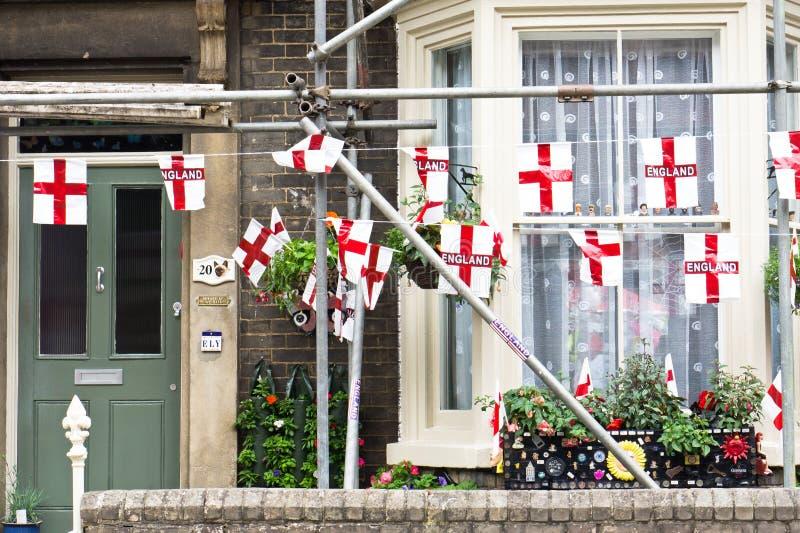 Σημαίες της Αγγλίας στοκ εικόνα