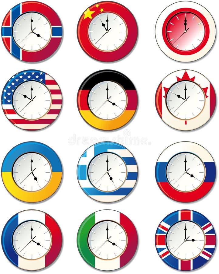 σημαιοστολίζει το ρολό&i διανυσματική απεικόνιση