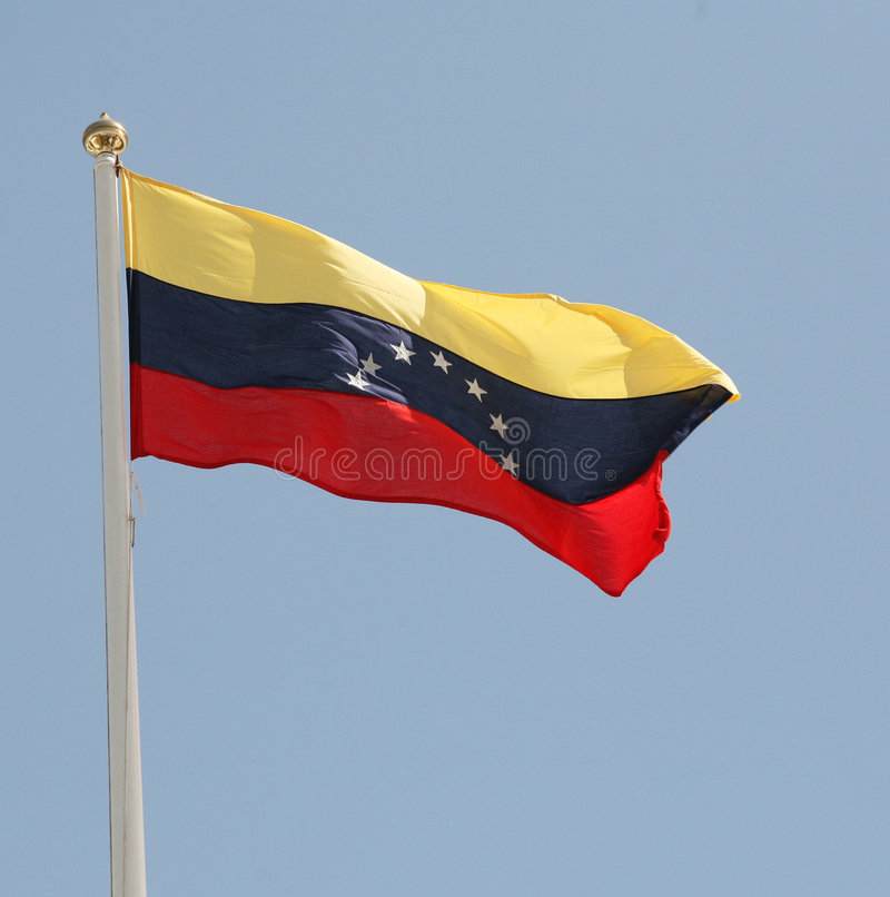 σημαιοστολίστε Βενεζ&omicr στοκ εικόνες με δικαίωμα ελεύθερης χρήσης