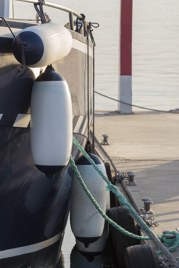 Σημαντήρες μιας βάρκας στοκ εικόνα με δικαίωμα ελεύθερης χρήσης