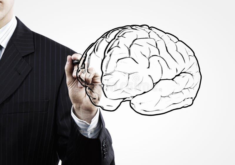 Σημαντικό μυαλό στοκ εικόνες