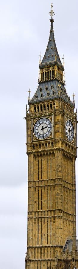 Σημαντικό τουριστικό αξιοθέατο Big Ben Λονδίνο Αγγλία στοκ φωτογραφία