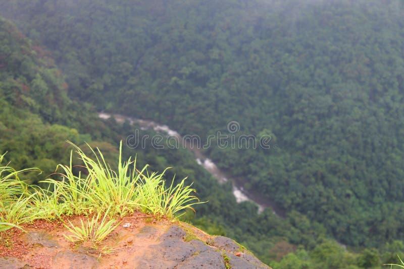 Σημείο άποψης σε Tilari, Belgaum στοκ φωτογραφίες