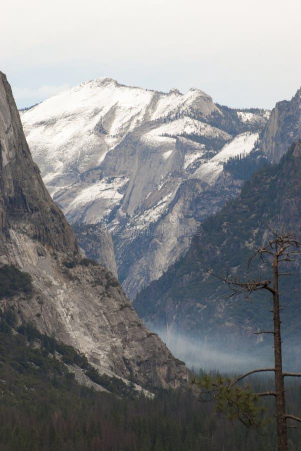 Σημείο έμπνευσης, εθνικό πάρκο Yosemite, Καλιφόρνια στοκ φωτογραφία