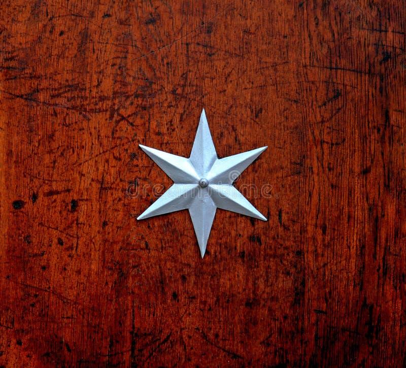 σημείο έξι αστέρι στοκ εικόνες