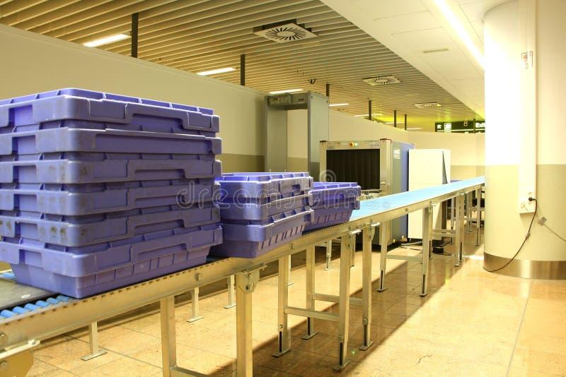 Σημείο ελέγχων ασφαλείας στον αερολιμένα στοκ φωτογραφίες