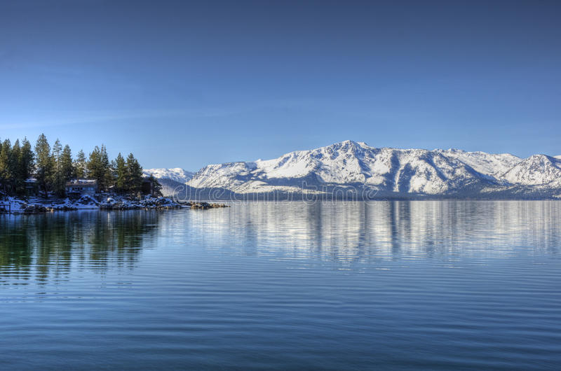 σημείο λιμνών αλκών tahoe στοκ φωτογραφίες