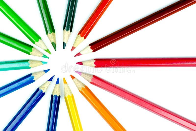 Σημείο μολυβιών στοκ φωτογραφία